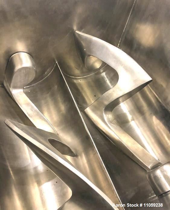 Used- Jaygo Jacketed Double Arm/Sigma Blade Mixer/Blender