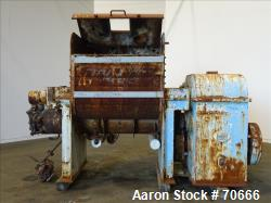 Used: AMK mixer/extruder, model VIU900I, 317 gallon (1200 liter) total, 240 gall
