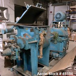 Used- Werner and Pfleiderer Mixer/Extruder, Type UK12-AU3