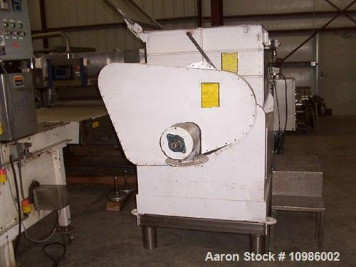 """Used-Used: Approximately 75 gallon food grade double arm mixer/extruder. Bowl dimensions: 27"""" front to back x 32"""" left to ri..."""