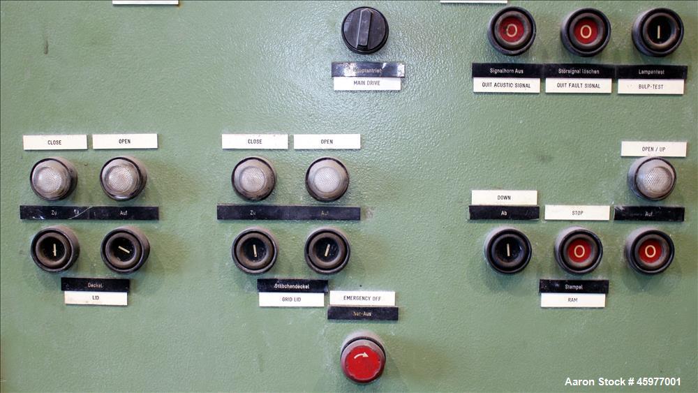Used- Werner & Pfleiderer Mixer Extruder, Type UK80-AES