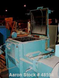 Used- Werner and Pfleiderer Mixer/Extruder, Type UK12-AU3