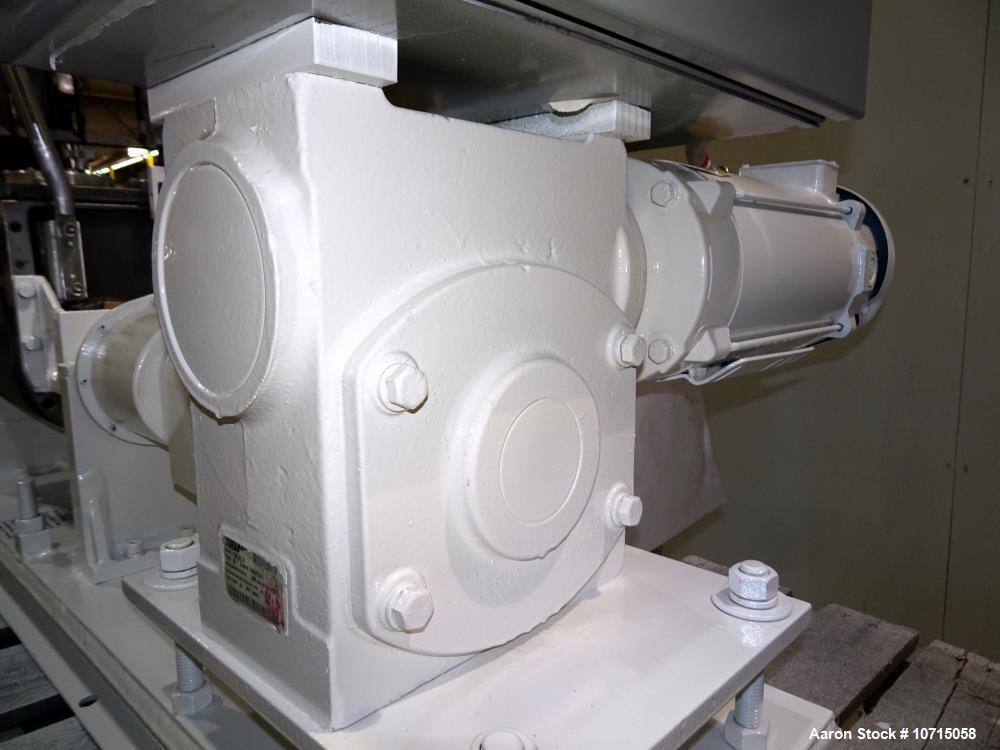 Unused- Aaron Process Model LNG-1, 1 Gallon Lab Sigma Blade Mixer.