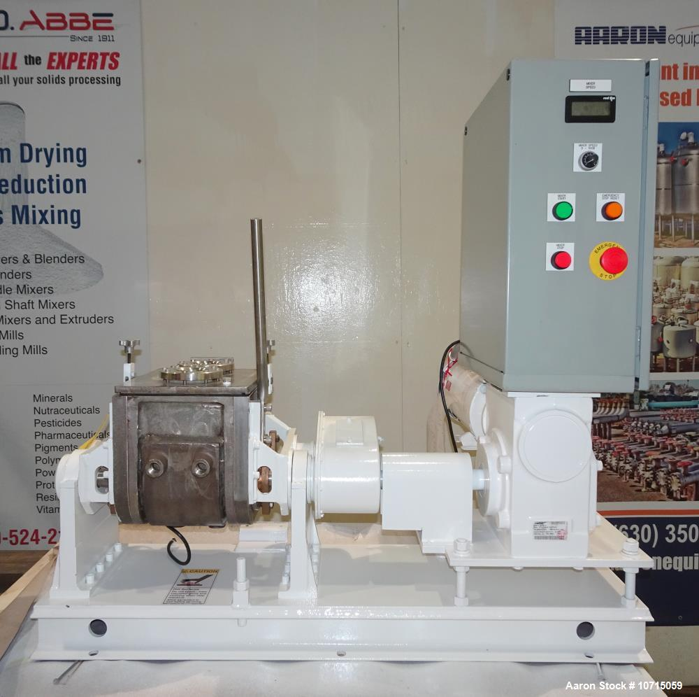 Unused- Aaron Process 1 Gallon Model LNG-1 Lab Sigma Blade Mixer.