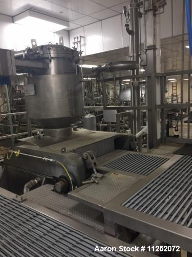 Used- Aaron Process Vacuum Drying Sigma Mixer, Model MBG200-125