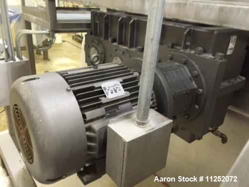 Used- Aaron Process Vacuum Drying Sigma Mixer.