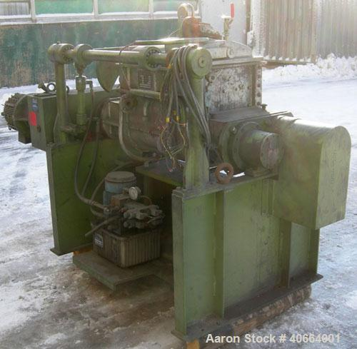 Used- Carbon Steel AMK Double Arm Mixer, Type VII.