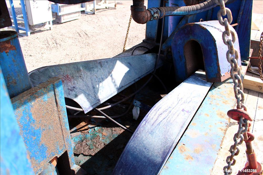 Used- Aaron Process Equipment Double Arm Mixer, 500 Gallon working capacity. Stainless steel construction, tangential sigma ...