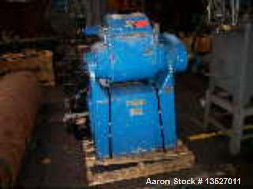 "Used-Baker Perkins 5 gallon double arm sigma blade mixer. Stainless steel contact parts. Approximate 14-1/2"" x 18"" x 14"" dee..."