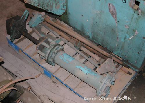 "Used: Carbon Steel APV/Baker Perkins ""Shearmix"" mixer, .75 gallon working capacity"