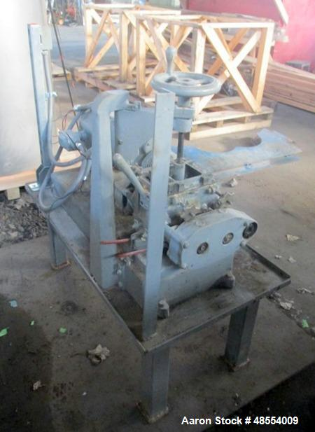 Used- Baker Perkins Double Arm Mixer