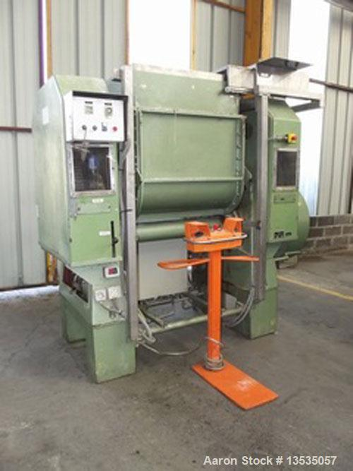"""Used-Guittard Type M57S Double Arm Mixer.  Total volume 132 gallons (500 liters).  Opening dimensions 15.7"""" x 15.7"""" (400 x 4..."""