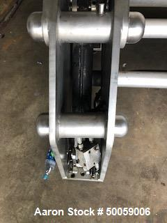 Used- Howard Double Arm Mixer, Approximate 200 Gallon