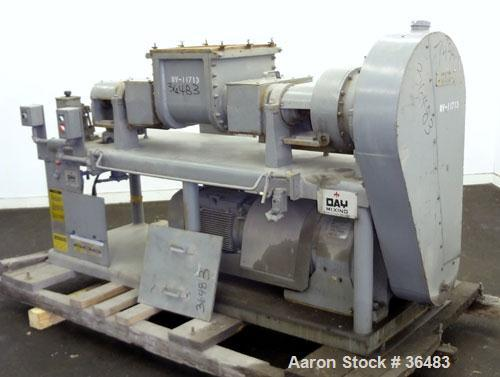 Unused- J.H. Day Mogul Laboratory Double Arm Mixer, Size 5, Carbon Steel. (5) Gallon working capacity (10 total). Non-jacket...