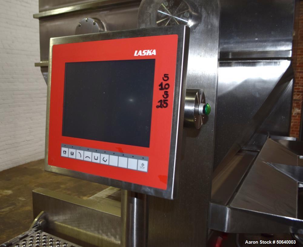 Used- Laska Industrial Vacuum Double Arm Mixer, Model ME 1000 ZNVUX
