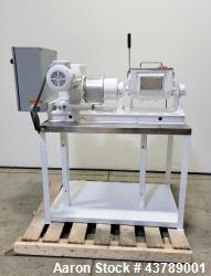 Used- Aaron Process Machinery Lab Size Double Arm Mixer