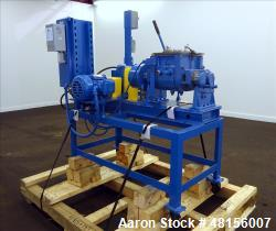 Used- Aaron Process Company Double Arm Lab Mixer, 1 Gallon Working Capacity
