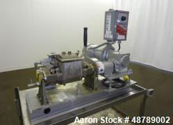 Used- Aaron Process Equipment Double Arm Sigma Blade Lab Mixer, Model LNG 0.25