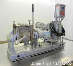 Used- Aaron Process Equipment Model LNG1B Lab Batch Double Arm Sigma Mixer.