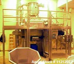 Used- Aaron Process Vacuum Drying Sigma Mixer, Model MBG200-125