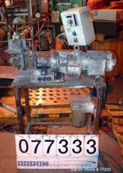 Used: Werner Pfleiderer lab size double arm mixer