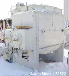 Used- Werner & Pfleiderer Double Arm Mixer, Type UK1500 X 55