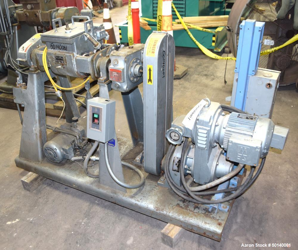 Used- Paul O. Abbe Lab Double Arm Mixer, Model 1BSB