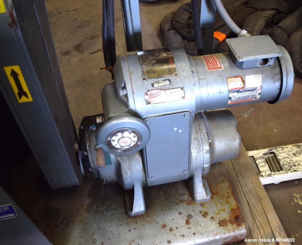 Used- Paul O. Abbe Lab Double Arm Mixer, Model 1SBM