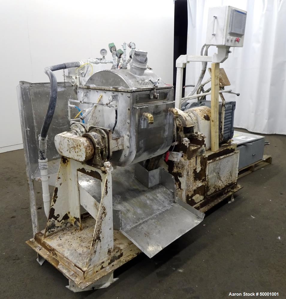 Used- Paul O. Abbe Double Arm Mixer, Model SBM-10
