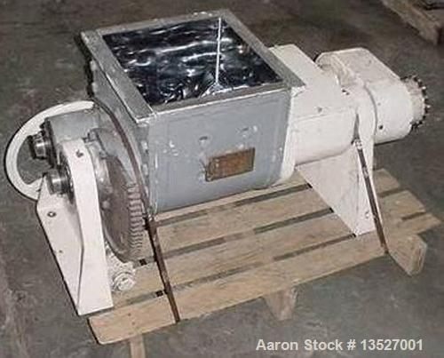Used-Used: Readco 20 quart LABMIXER heavy duty sigma blade mixer. 5 gallon working capacity. Type 316 stainless steel constr...