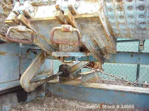 USED: Readco 350/425 split level double arm mixer. Stainless steel contact parts. Sigma over lapping blades. Geared both end...