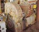 Used: Carbon Steel JH Day double arm mixer, 36 gallon working,