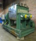 Used- Toshin Co. Double Arm Mixer, Model TKB1600-100, Approximately 1600 Liter