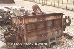 """USED: WP """"Lowboy"""", stainless steel, 200 gallon working. Sigma tangential blades, jacketed bowl and ends. Bowl measures 52"""" l..."""