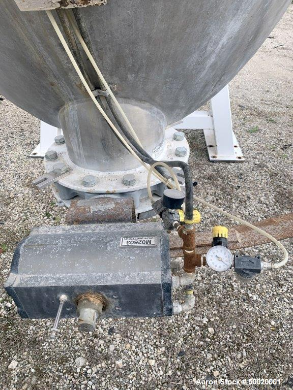 Used- Economy 75 Cubic Foot Stainless Steel V Blender/Mixer