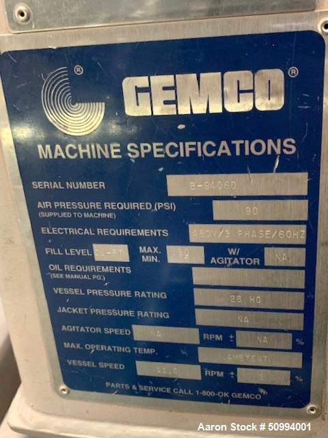 Used- Gemco Twin Shell V-Shape Tumble Blender