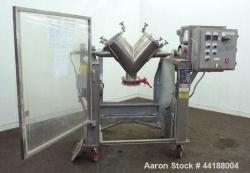 Used- Stainless Steel Gemco Twin Shell Blender
