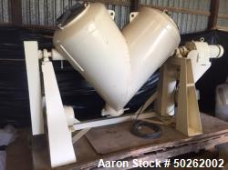 20 CuFt Patterson Kelley SS Double Cone Blender. Max Density of 65 CuFt. Serial #213904.