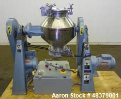 Used- Paul O. Abbe Rota-Cone Blender, Model RCB-18, 304 Stainless Steel.