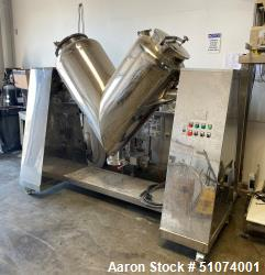 Used- Henan Workers Machinery Co, Ltd  Twin Shell Blender / V Blender