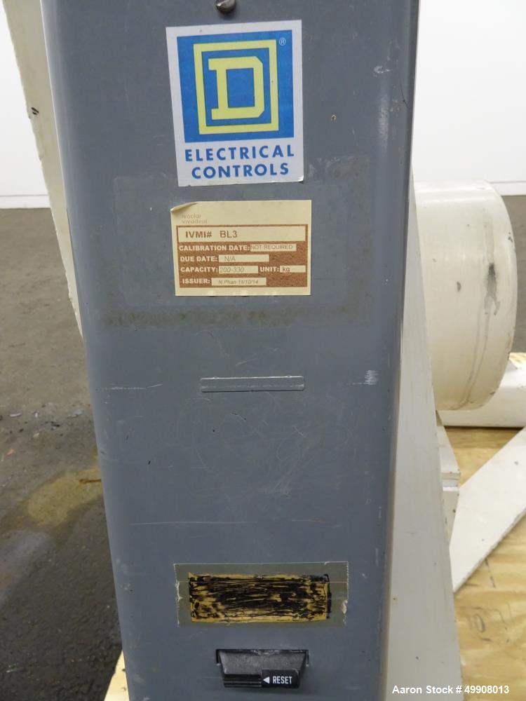 Used- Patterson-Kelley Twin Shell Dry Blender, 10 Cubic Foot Capacity