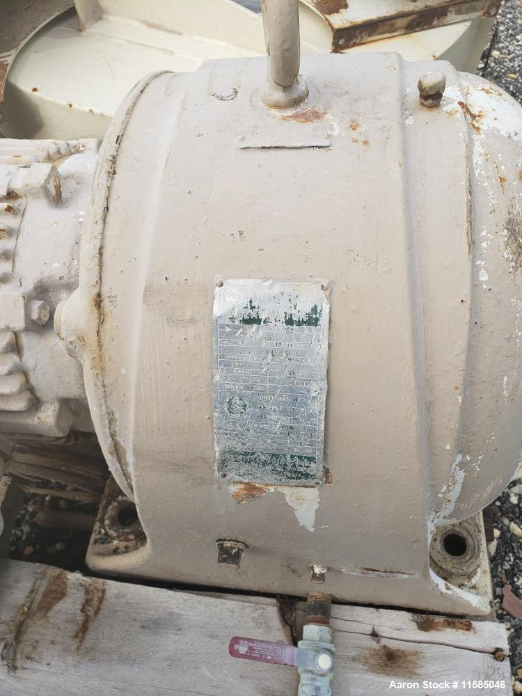 Used- 50 Cubic Foot Patterson Kelley Twin Shell V Blender