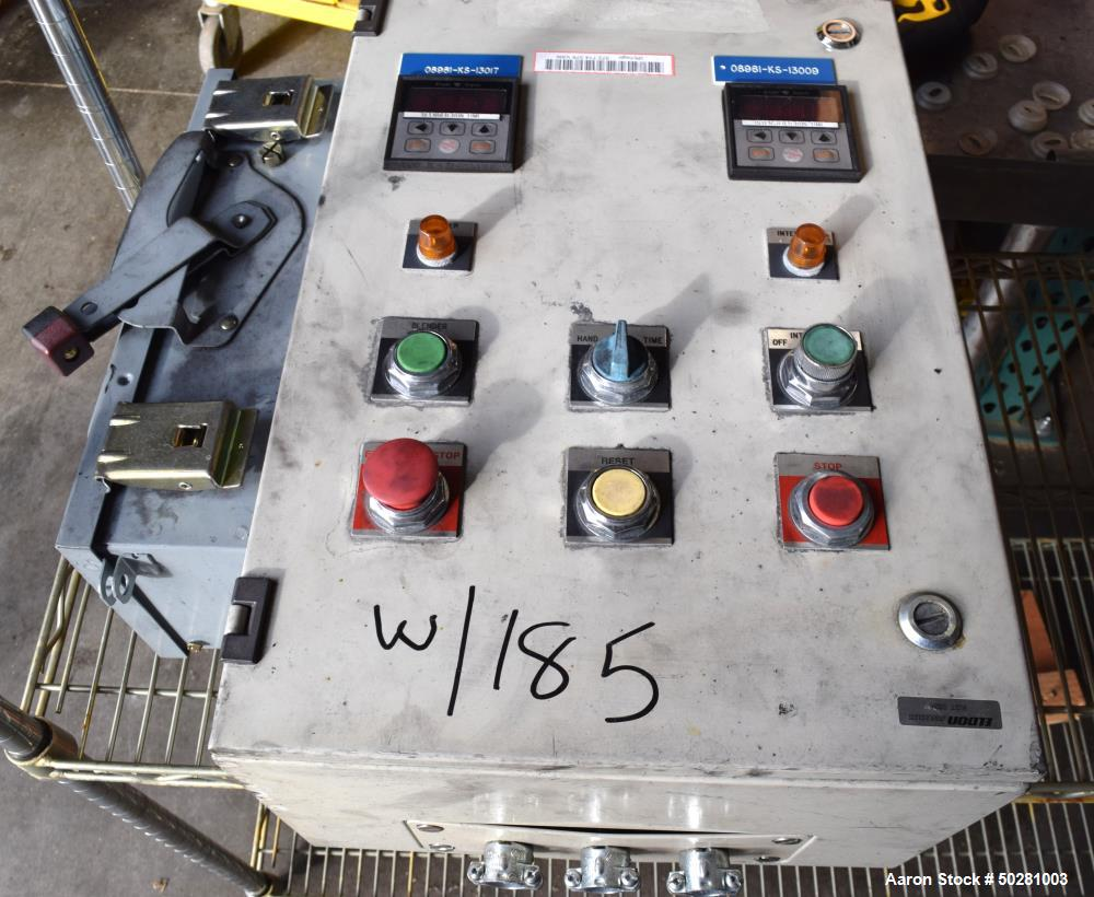 Used- Patterson-Kelley Twin Shell Dry Blender,