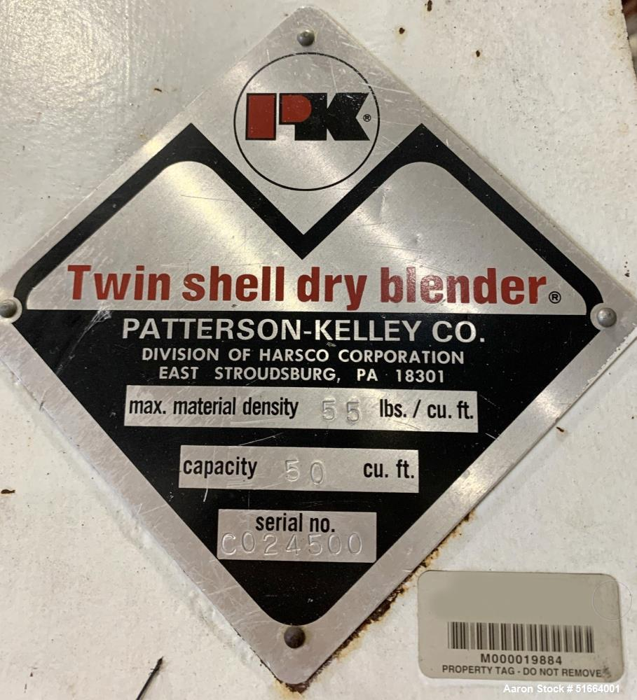 Patterson Kelley (PK) 50 Cubic Foot Twin Shell V Blender