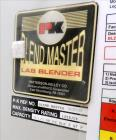 Used- Patterson-Kelley Blend Master Lab V-Blender, 2 Quart Capacity