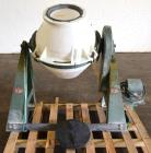 Used- Paul O. Abbe Rota-Cone Blender, Plastic Drum.