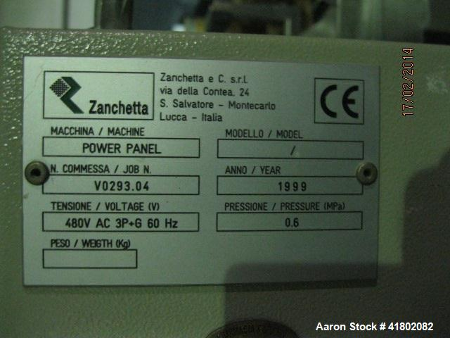 Used- Zanchetta (IMA) Bin Blender, Model CANGURO TUMBLER, Model 500 FS