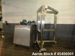 Used- Stainless Steel Gallay Systems Bin Blender, Model G868-B01