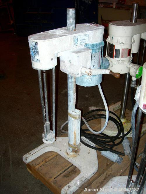 """Used-Used: Ross mixer emulsifier, model ME100LX, stainless steel. 1-20 liter batch capacity. 0-10,000 rpm. Approximately 3"""" ..."""