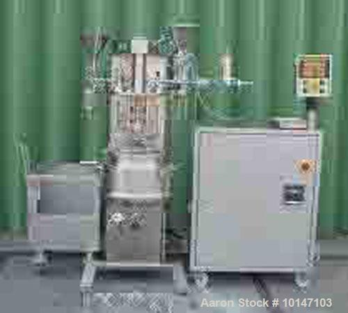 Used- Stainless Steel Brogli MH-20 Vacuum Process Vessel